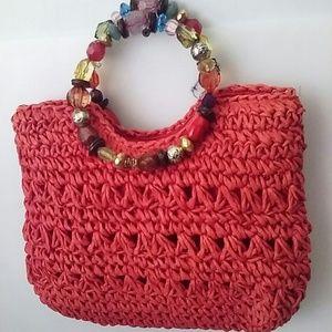Capelli Straw Bag